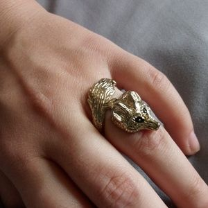 Jewelry - Fox rap Ring